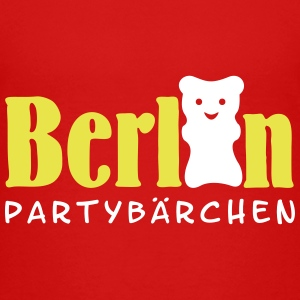 Berlin Partybärchen / Berlin party bear (2c) Shirts - Teenage Premium T-Shirt