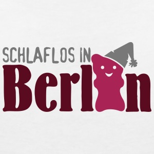 Schlaflos in Berlin (3c) T-Shirts - Women's V-Neck T-Shirt