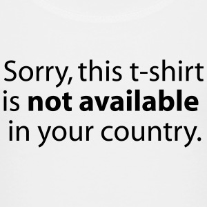 not available in your country Skjorter - Premium T-skjorte for barn