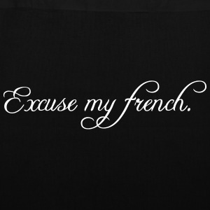 excuse my french Bags & backpacks - Tote Bag