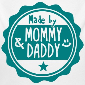 Made by Mommy and Daddy Pullover & Hoodies - Baby Bio-Langarm-Body