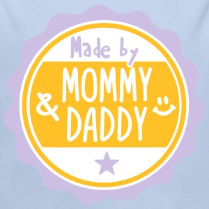 Made by Mommy and Daddy Sweaters - Baby bio-rompertje met lange mouwen