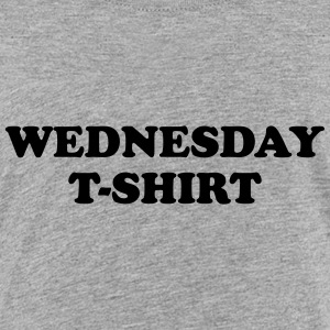 wednesday t-shirt T-Shirts - Teenager Premium T-Shirt