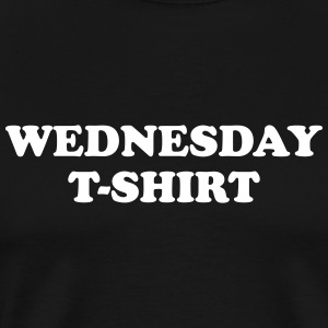 wednesday t-shirt T-shirts - Premium-T-shirt herr