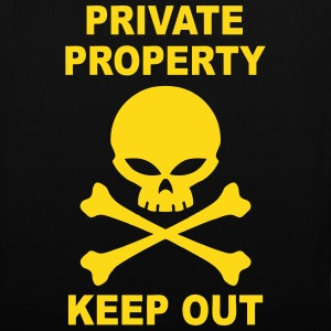 private property keep out Bags & backpacks - Tote Bag