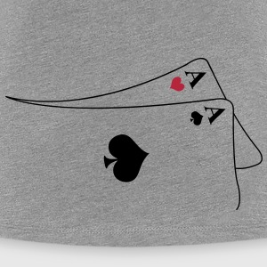 pocket aces T-shirts - Vrouwen Premium T-shirt