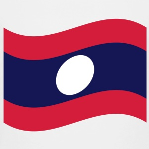 Laos / Lao Flag Wave - Kids' Premium T-Shirt