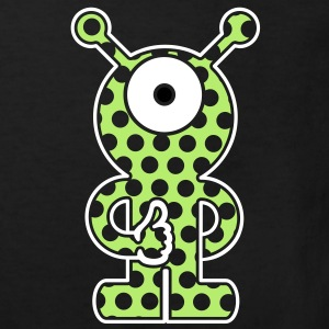 monster_dot_3c T-shirts - Ekologisk T-shirt barn