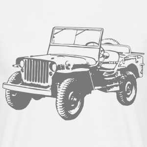 Willys Jeep Tee shirts - T-shirt Homme