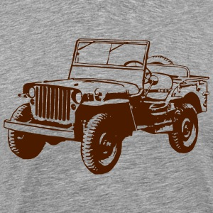 Willys Jeep Tee shirts - T-shirt Premium Homme