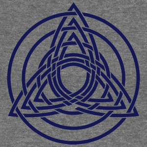 Triquetra, Germanic paganism, Celtic art, Hoodies & Sweatshirts - Women's Boat Neck Long Sleeve Top