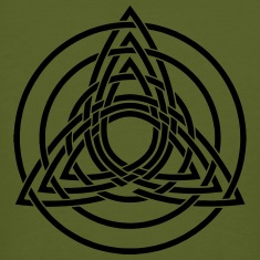 Triquetra, Germanic paganism, Celtic art, T-Shirts