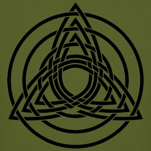 Triquetra, Germanic paganism, Celtic art, T-Shirts - Men's Organic T-shirt