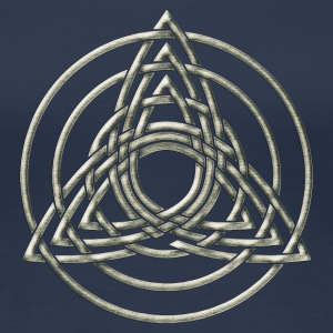 Triple Triquetra, Trinity, Symbol of perfection T-Shirts - Women's Premium T-Shirt