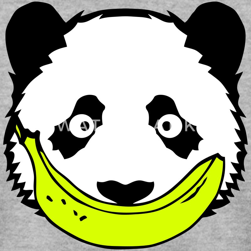panda sourire banane 2 smiley face Sweat-shirts - Sweat-shirt Homme