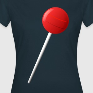 Lollipop Lolly  T-shirts - Dame-T-shirt