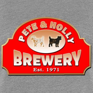 PETE & HOLLY Brewery - Frauen Premium T-Shirt