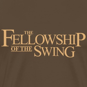 The Fellowship of the Swing - Männer Premium T-Shirt