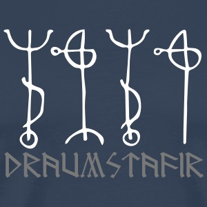 Draumstafir, sigil to dream of unfulfilled desires T-Shirts - Men's Premium T-Shirt