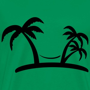 palm T-Shirts - Men's Premium T-Shirt