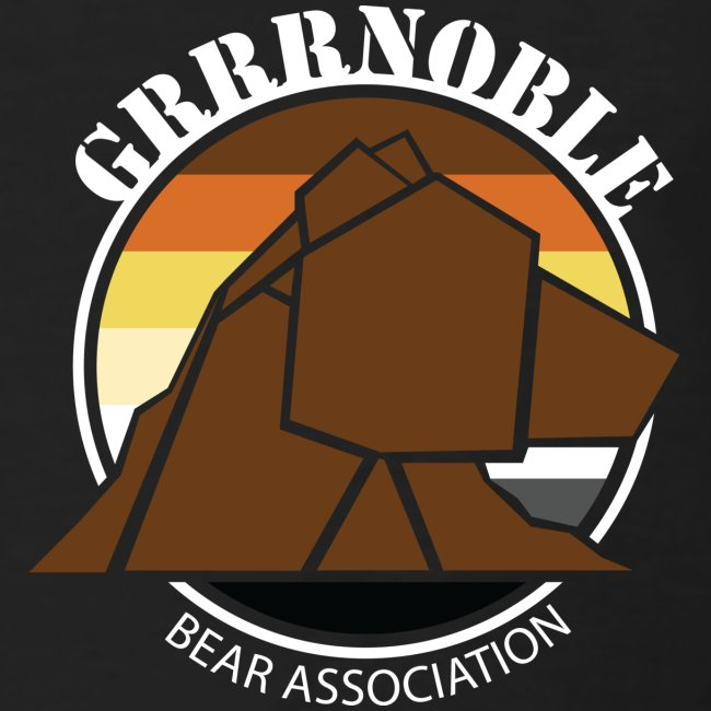 Logo poitrine Grrrnoble bear association