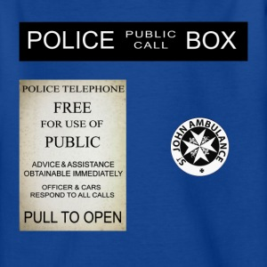 Doctor Who Tardis Police Box - T-shirt Ado