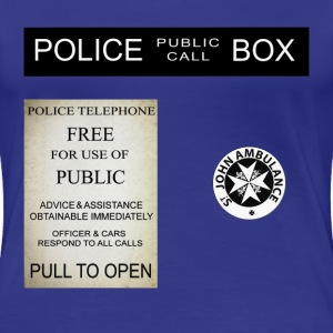 Doctor Who Tardis Police Box - T-shirt Premium Femme