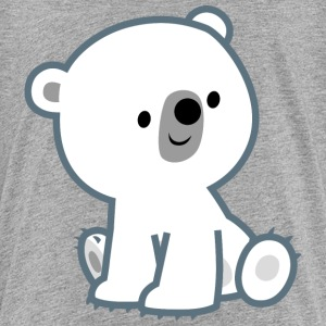 Cute Curious Polar Bear Cub by Cheerful Madness!! Shirts - Teenage Premium T-Shirt