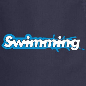 Swimming Kookschorten - Keukenschort
