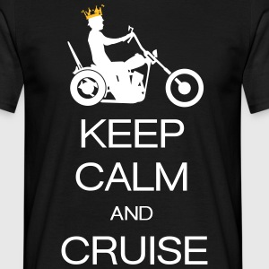 keep calm and cruise Magliette - Maglietta da uomo
