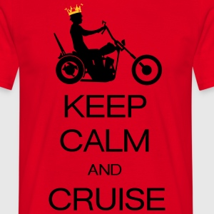 keep calm and cruise T-shirts - T-shirt herr