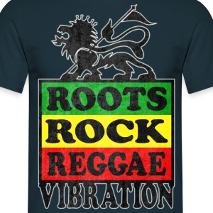 roots rock reggae vibration T-Shirts - Men's T-Shirt
