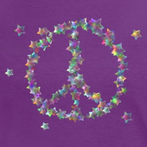 Peace T-Shirts - Frauen Kontrast-T-Shirt