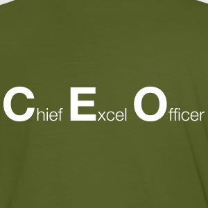 Chief Excel Officer - Männer Bio-T-Shirt