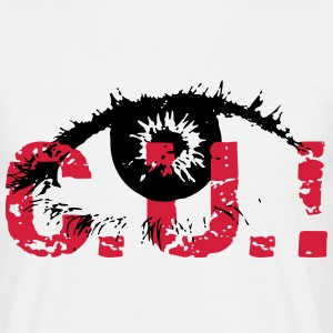 cu (see you) T-Shirts - Männer T-Shirt