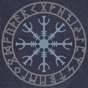 Aegishjalmur, Helm of awe, Sigil, Rune magic Sweat-shirts - Pull Femme col bateau de Bella