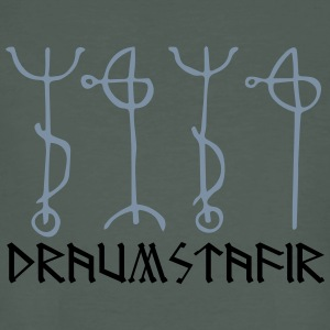 Draumstafir, sigil to dream what your heart desire T-shirts - Ekologisk T-shirt herr