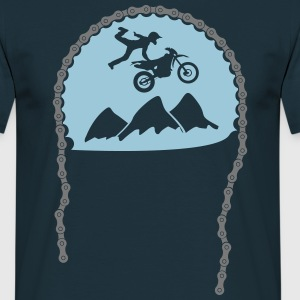 Enduro jump chainring  T-Shirts - Men's T-Shirt