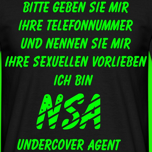 NSA Undercover Agent