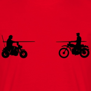 Bud vs. Terence on Bike T-shirts - Herre-T-shirt