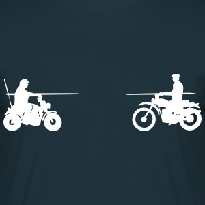 Bud vs. Terence on Bike T-shirts - T-shirt herr