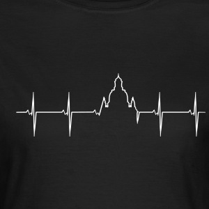 Heartbeat of Dresden Frauenkirche  T-Shirts - Women's T-Shirt