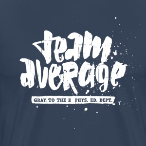 Team Average White Men Tee - Männer Premium T-Shirt