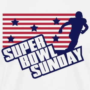 Super Bowl Sunday T-skjorter - Premium T-skjorte for menn