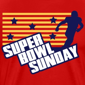 Super Bowl Sunday T-Shirts - Männer Premium T-Shirt