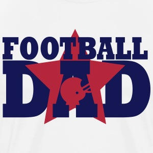 Football Dad T-skjorter - Premium T-skjorte for menn