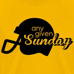 Any given Sunday T-skjorter - Premium T-skjorte for menn