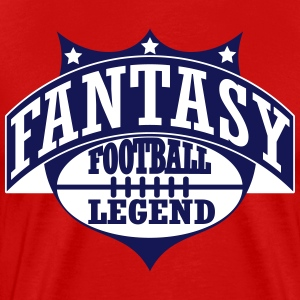 Fantasy Football Legend T-skjorter - Premium T-skjorte for menn