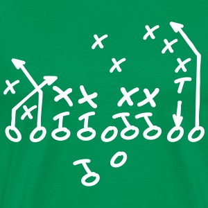 Football Coach T-shirts - Mannen Premium T-shirt