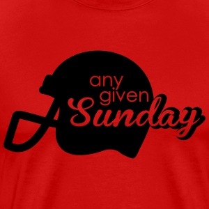 Any given Sunday T-shirts - Herre premium T-shirt